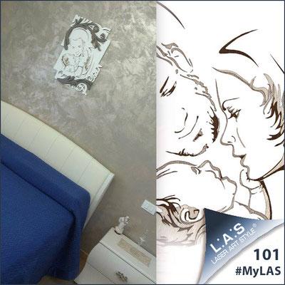 A casa di Lucia <br> Abitazione privata   Italia </br> Codice: SI-237   Misura: 50x65 cm </br> Colore: panna - grigio marrone