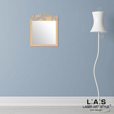 Specchiere </br> Codice: MW-319 | Misura: 60x70 cm </br>  Colore: natural wood-cemento
