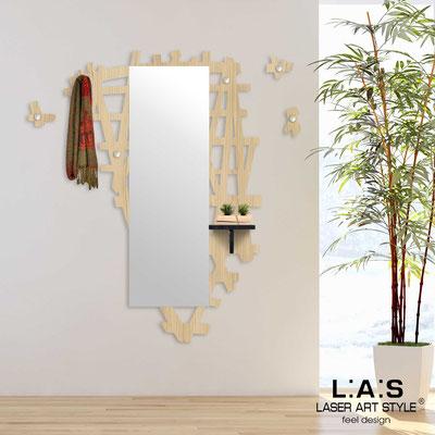 Complementi d'arredo </br> Codice: W-390 | Misura: 100x150 cm </br> Colore: natural wood