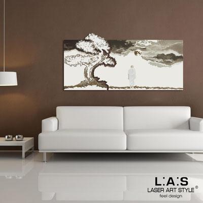 Figurative wall sculpture </br> Code: SI-177 | Size: 165x80 cm </br> Colour: cream-cream-brown decoration-wood engraving