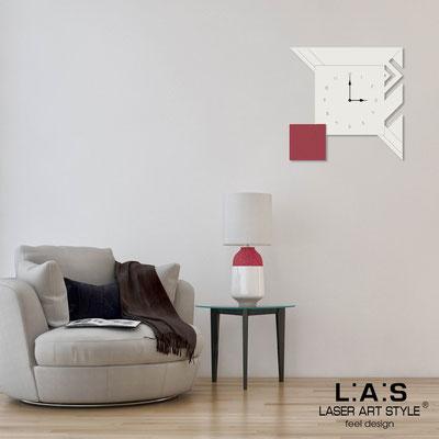 Orologi </br> Codice: SI-356 | Misura: 50x50 cm </br> Codice: SI-356L | Misura: 90x90 cm </br>  Colore: panna-rosso violetto-incisione legno