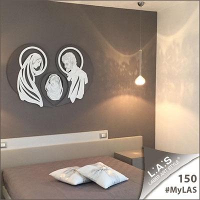 A casa di Mariella e Vito | Italia </br> Codice: SI-266-SF | Misura: 120x90 cm </br> Colore: grigio marrone-bianco-incisione legno
