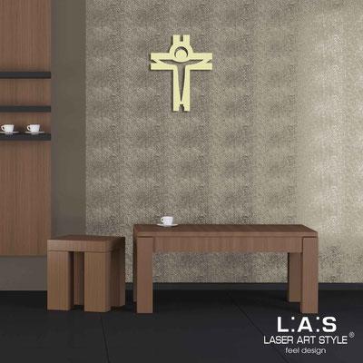Crocifissi </br> Codice: CR25 | Misura: 32x40 cm </br>  Colore: sabbia