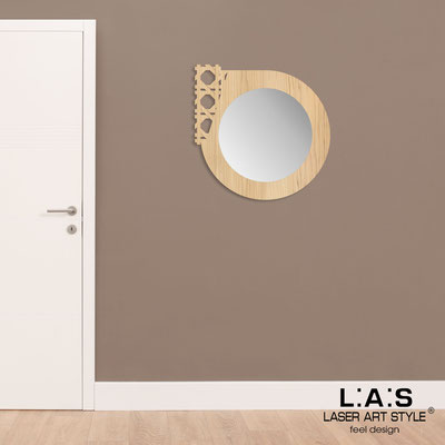 Mirrors </br> Code: W-408 | Size: 72x72 cm </br>  Colour: natural wood
