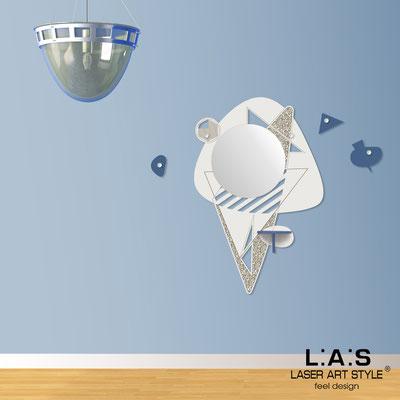 Complementi d'arredo </br> Codice: SI-379 | Misura: 100x150 cm </br> Colore: panna-blu distante-incisione legno