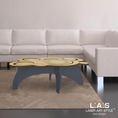 Complementi d'arredo </br> Codice: MW-283 | Misura: 100x60 h40 cm </br> Colore: natural wood-antracite-incisione legno