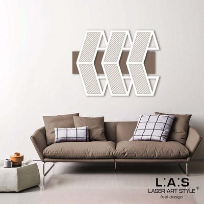 Quadri Astratti </br> Codice: SI-307 | Misura: 125x90 cm </br> Colore: grigio marrone-bianco-incisione legno