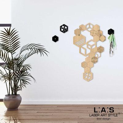 Complementi d'arredo </br> Codice: MW-339 | Misura: 55x100 cm </br> Colore: natural wood-nero-incisione legno