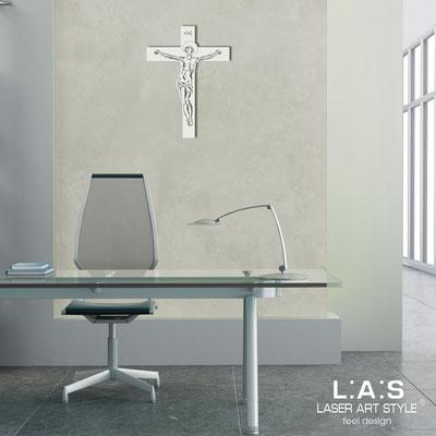 Crocifissi </br> Codice: CR20 | Misura: 30x40 cm </br>  Colore: bianco
