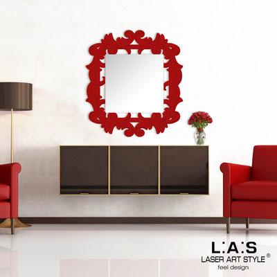 Specchiere </br> Codice: SI-247-SP | Misura: 100x110 cm </br>  Colore: rosso-rosso