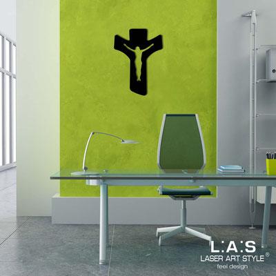 Crucifixes </br> Code: CR16 | Size: 30x40 cm </br> Colour: black