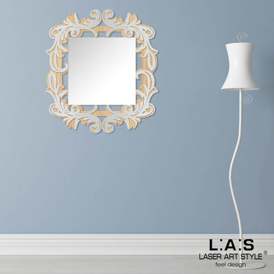 Mirrors </br> Code: MW-247-SP | Size: 100x110 cm </br>  Colour: natural wood-silver