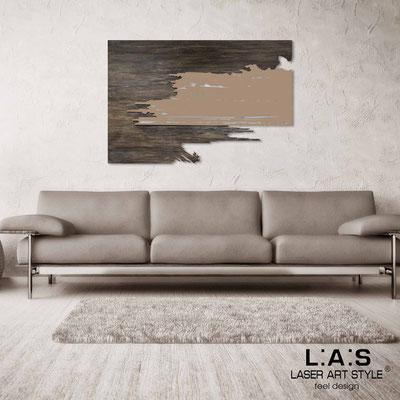Quadri Astratti </br> Codice: SI-258 | Misura: 150x100 cm </br> Colore: decoro stucco industrial-nocciola