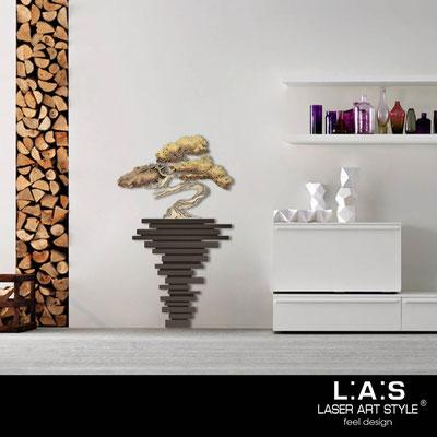 Quadri Floreali </br>  Codice: SI-192-H | Misura: 73x123 cm </br>  Colore: marrone-decoro toni caldi-incisione legno