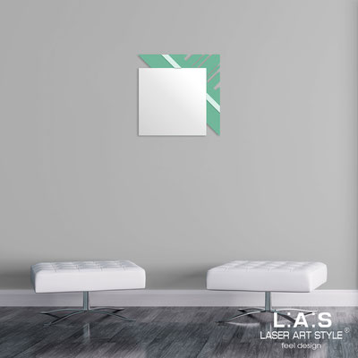 Mirrors </br> Code: SI-358 | Size: 60x60 cm </br>  Colour: sage-light green