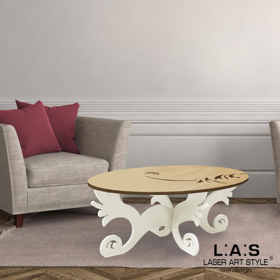 Furnishings </br> Code: MW-289   Size: 100x60 h40 cm </br> Colour: natural wood-cream