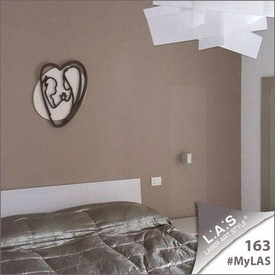 Abitazione privata | Italia </br> Codice: SI-227L | Misura: 50x65 cm </br> Colore: panna-grigio marrone