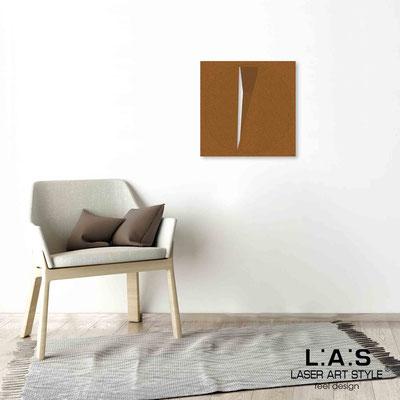 Quarantotto </br>  Codice: Q-024 | Misura: 48x48 cm </br> Colore: rame-incisione legno