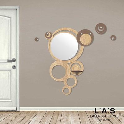 Complementi d'arredo </br> Codice: MW-281 | Misura: 100x150 cm </br> Colore: natural wood-grigio marrone-incisione legno