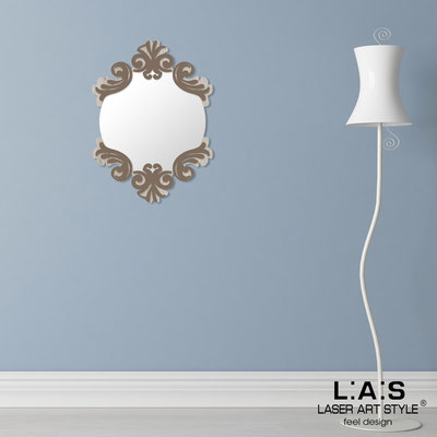 Mirrors </br> Code: MG-248-SP | Size: 64x87 cm </br>  Colour: grey wood-dove grey