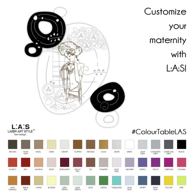 Customize your maternity with L:A:S!