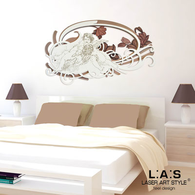Sacred wall sculptures </br> Code: 203 | Size: 123x73 cm </br> Colour: hazel-cream-brown decoration-wood engraving