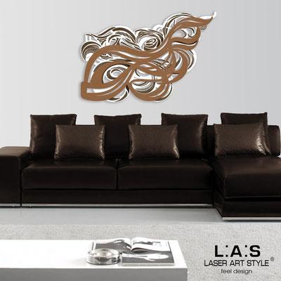 Quadri Astratti </br> Codice: SI-171 | Misura: 150x100 cm </br> Colore: bianco-bronzo-incisione legno