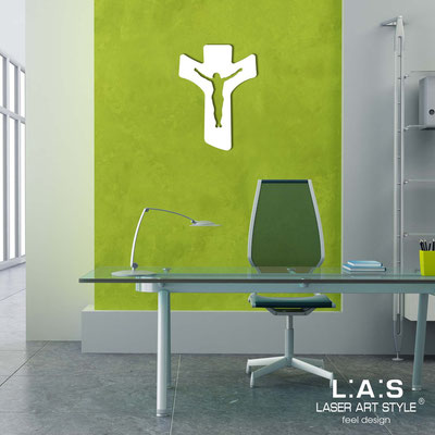 Crucifixes </br> Code: CR16 | Size: 30x40 cm </br> Colour: white