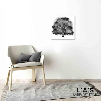 Quarantotto </br>  Codice: Q-006 | Misura: 48x48 cm </br> Colore: decoro grigio-incisione legno