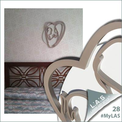 A casa di Valeria <br> Abitazione privata | Italia </br> Codice: SI-227XL | Misura: 70x90 cm </br> Colore: panna - cipria