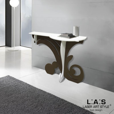 Furnishings </br> Code: SI-286   Size: 120x40 h80 cm </br> Colour: white-brown
