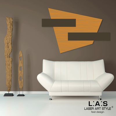 Abstract wall sculptures </br> Code: SI-189 | Size: 150x100 cm </br> Colour: light orange-brown-wood engraving