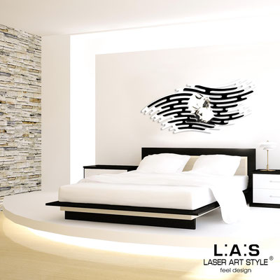 Sacred wall sculptures </br> Code: SI-160 | Size: 165x73 cm </br> Colour: white-black-black engraving