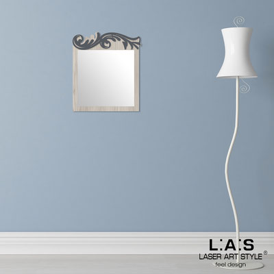 Mirrors </br> Code: MG-319 | Size: 60x70 cm </br>  Colour: grey wood-charcoal grey