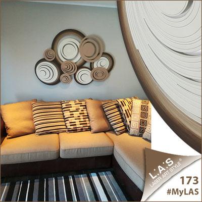 Abitazione privata   Italia </br> Codice: SI-183   Misura: 150x100 cm </br> Colore: panna-nocciola-decoro marrone