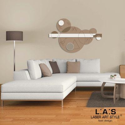 Quadri Astratti </br> Codice: SI-350 | Misura: 150x100 cm </br> Colore: nocciola-panna-incisione legno