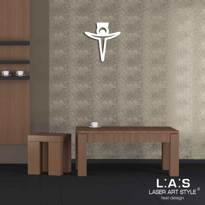 Crucifixes </br> Code: CR24 | Size: 36x40 cm </br> Colour: white