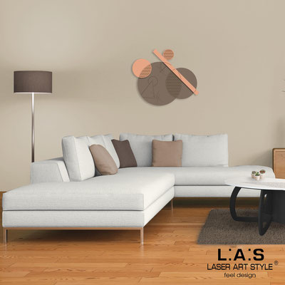 Quadri Astratti </br> Codice: SI-348 | Misura: 85x70 cm </br> Colore: grigio marrone-salmone-incisione legno