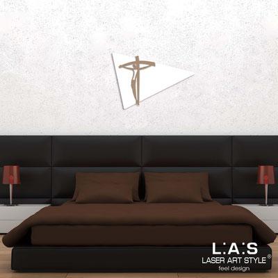 Crucifixes </br> Code: SI-277M | Size: 43x30 cm </br> Code: SI-277L | Size: 70x48 cm </br> Code: SI-277XL | Size: 98x70 cm </br> Colour: white-hazel