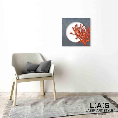 Quarantotto </br>  Codice: Q-031 | Misura: 48x48 cm </br> Colore: decoro multicolor-incisione legno