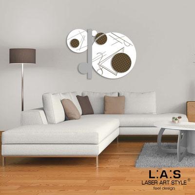 Quadri Astratti </br> Codice: SI-349 | Misura: 125x90 cm </br> Colore: bianco-cemento-incisione legno