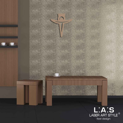 Crucifixes </br> Code: CR24 | Size: 36x40 cm </br> Colour: hazel