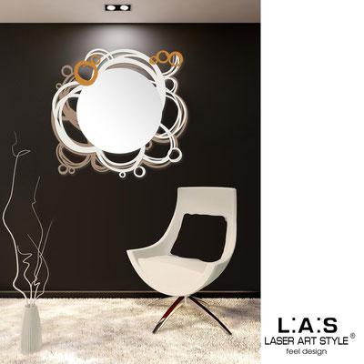Mirrors </br> Code: SI-204Q-SP | Size: 90x85 cm </br>  Colour: hazel-cream-light orange