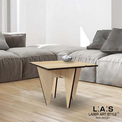 Complementi d'arredo </br> Codice: W-411 | Misura: 60x60 h50 cm </br> Colore: natural wood