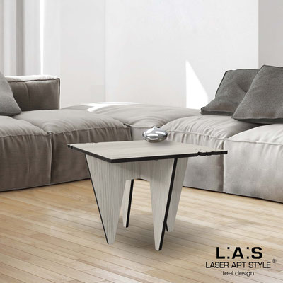 Furnishings </br> Code: G-411   Size: 60x60 h50 cm </br> Colour: grey wood