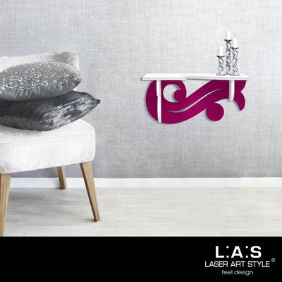 Furnishings </br> Code: SI-284   Size: 60x30 cm </br> Colour: white-crimson