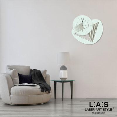 Orologi </br> Codice: SI-377 | Misura: 65x60 cm </br> Codice: SI-377L | Misura: 100x95 cm </br>  Colore: verde chiaro-incisione legno