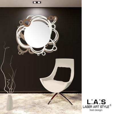 Mirrors </br> Code: SI-204Q-SP | Size: 90x85 cm </br>  Colour: hazel-cream-bronze