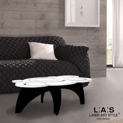 Furnishings </br> Code: SI-283   Size: 100x60 h40 cm </br> Colour: white-black-matched engraving