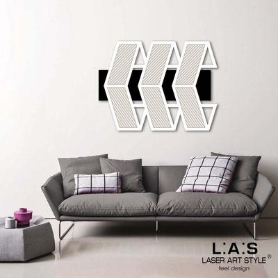 Quadri Astratti </br> Codice: SI-307 | Misura: 125x90 cm </br> Colore: nero-bianco-incisione legno